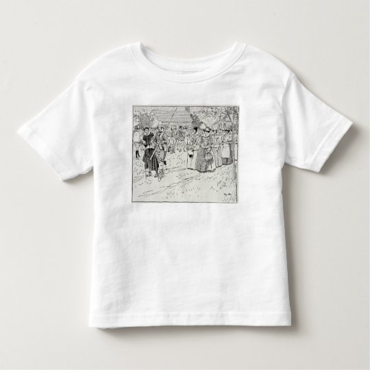 The Arrival of the Young Women at Jamestown Toddler T-shirt
