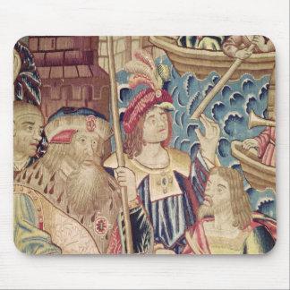 The Arrival of Vasco da Gama  in Calicut Mouse Pad
