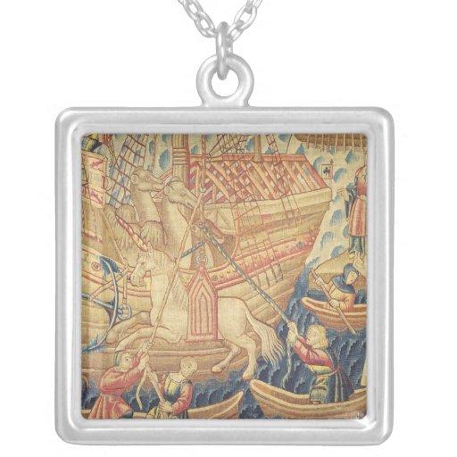 The Arrival of Vasco de Gama  in Calicut Pendants