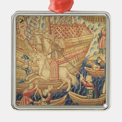 The Arrival of Vasco de Gama  in Calicut Ornaments