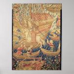 The Arrival of Vasco de Gama  in Calicut Posters