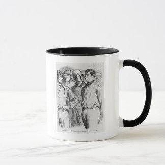 The arrogant squad of hired applauders mug