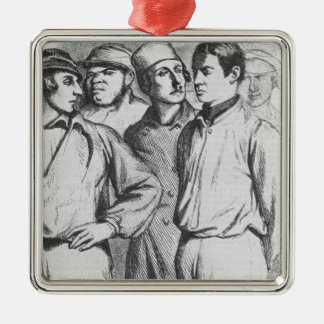 The arrogant squad of hired applauders christmas ornaments