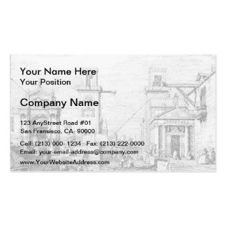 The Arsenal: the Water Entrance by Canaletto Business Card