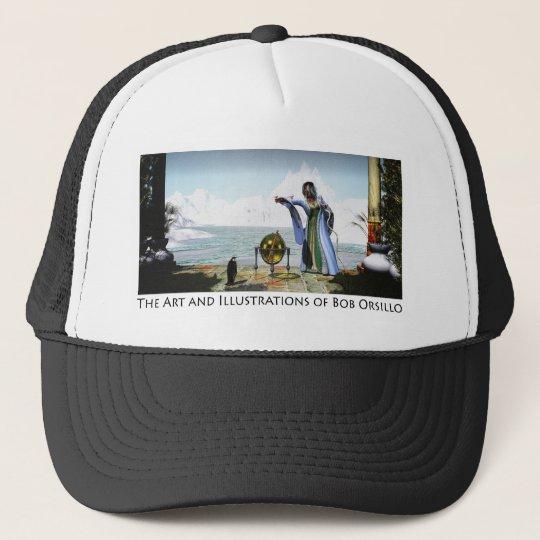 The Art and Illustrations of Bob Orsillo Trucker Hat