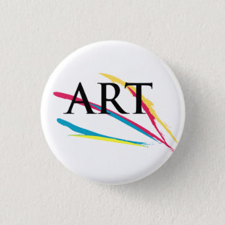 The Art Appreciator Paintdabs Pinback Button