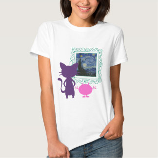 The Art Curator for Kids Critters T-shirt