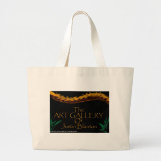 The Art Gallery Of Justin Blanton Large Tote Bag