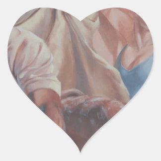 The Art Heart Sticker