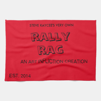 The Art Infliction Rally Rag Hand Towel