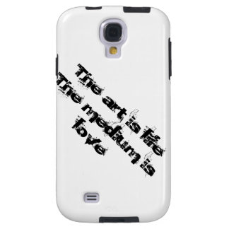 """The art is life..."" by C Rose Galaxy S4 Case"