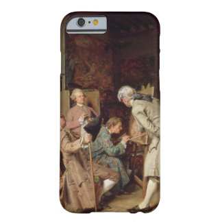 The Art Lovers, or The Painter, 1860 (panel) Barely There iPhone 6 Case