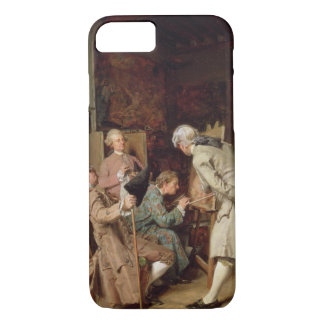 The Art Lovers, or The Painter, 1860 (panel) iPhone 7 Case