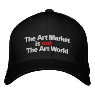 The Art Market is not The Art World Embroidered Baseball Cap