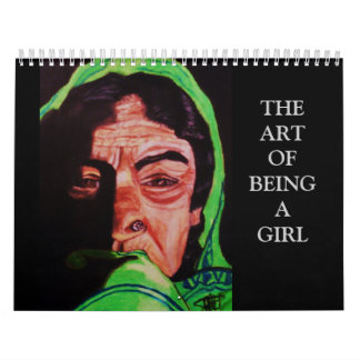 THE ART OF BEING A GIRL calendar