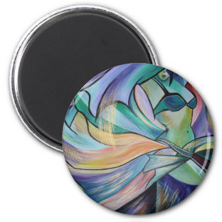 The Art of Belly Dance 2 Inch Round Magnet