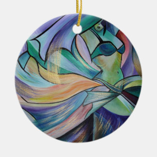The Art of Belly Dance Ceramic Ornament