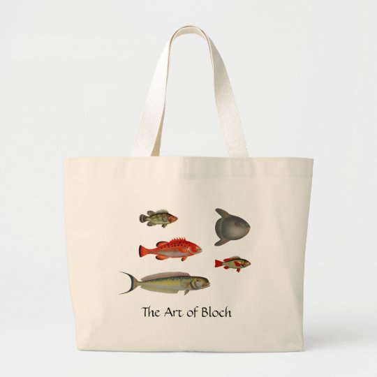 The Art of Bloch Large Tote Bag