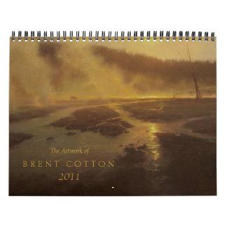 The Art of Brent Cotton  2011 Calendar