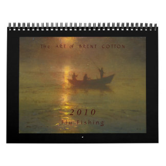 The Art of Brent Cotton Calendar