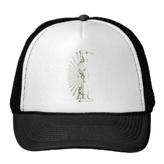 The Art of Climbing - by Laughing Sun Clothing Trucker Hat
