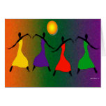 The Art of Dance Greeting Card