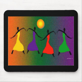 The Art of Dance Mouse Pad