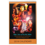 The Art of Erik Stitt 2018 Calendar