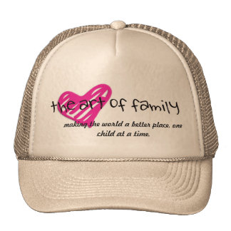 the art of family trucker hat