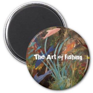The Art of Fishing Magnet