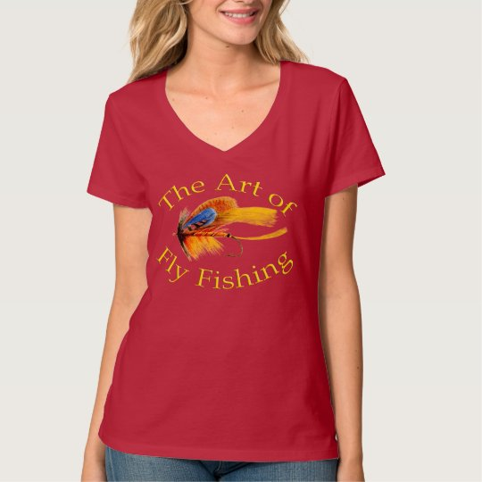 The Art of Fly Fishing T-Shirt