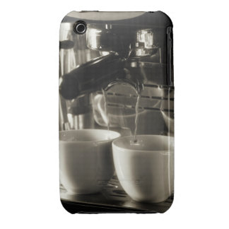 The art of fresh coffee making / pouring iPhone 3 Case-Mate cases
