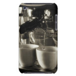 The art of fresh coffee making / pouring Case-Mate iPod touch case