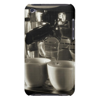 The art of fresh coffee making / pouring iPod touch covers