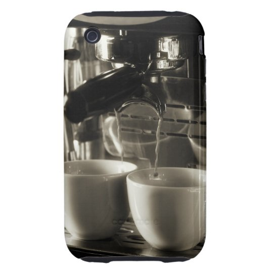 The art of fresh coffee making / pouring iPhone 3 tough case