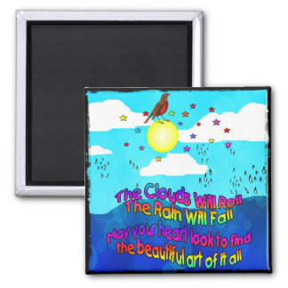 The Art of it All 2 Inch Square Magnet