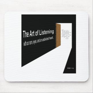 The Art of Listening Mouse Mat