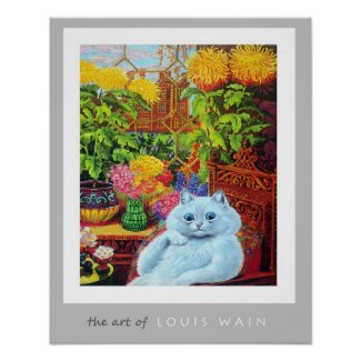 The Art of Louis Wain Poster