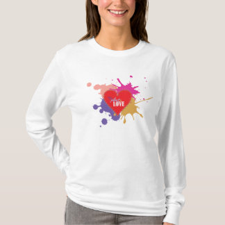 the Art of Love - Valentine's day design T-Shirt