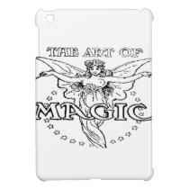 the art of magic black and white iPad mini case