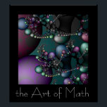"The Art of Math Poster<br><div class=""desc"">I have always loved fractals but hated math until I realized that there is art in math and math can be an art.</div>"