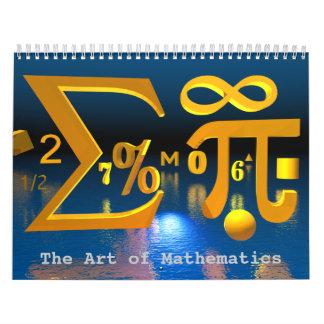 The Art of Mathematics calendar