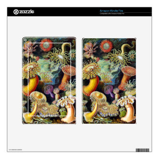the Art of Nature by Ernst Haeckel Kindle Fire Skin