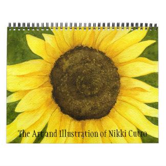 The Art Of Nikki Cutro Calendar