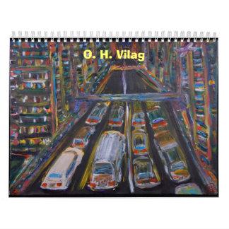 The Art of O. H. Vilag - Customized Wall Calendars