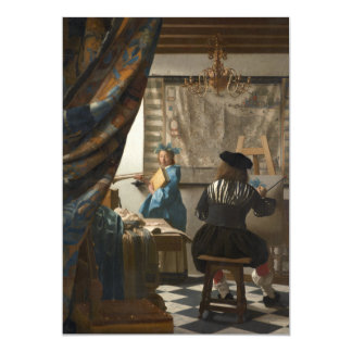 The Art of Painting by Johannes Vermeer Card