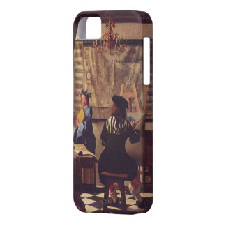 The Art of Painting by Johannes Vermeer iPhone 5 Cover