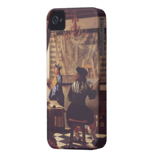 The Art of Painting by Johannes Vermeer iPhone 4 Covers