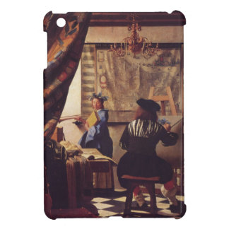 The Art Of Painting by Johannes Vermeer Case For The iPad Mini
