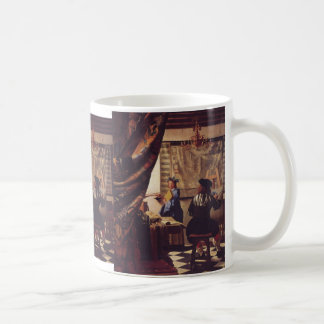 The Art of Painting by Johannes Vermeer Coffee Mug
